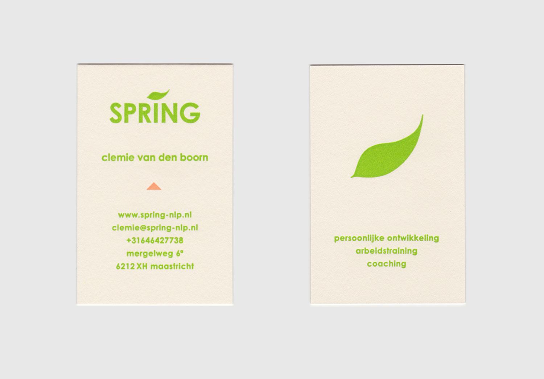 Kaartjes-Spring